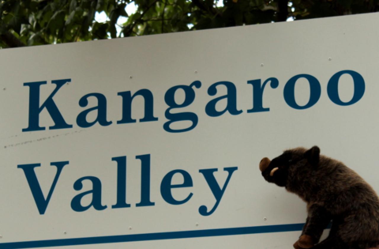 L'entrée de la Vallée des Kangourous