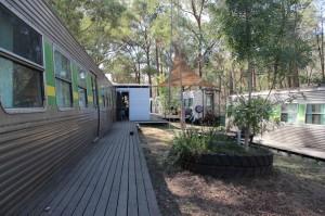 Un train tout équipé : notre logement de luxe