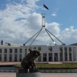 Devant le parlement