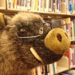 Saladolar à la bibliothèque
