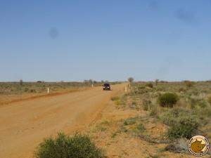 La piste de l'Oodnadatta track