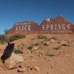 «Bienvenue à Alice Spring»