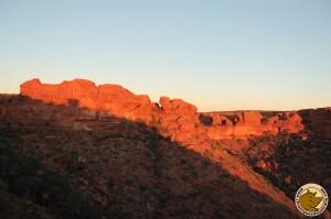 Kings Canyon au coucher du soleil