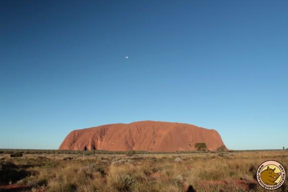 Uluru, 348 mètres de hauteur