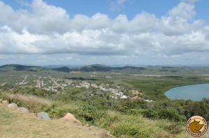 Cooktown vue de Grassy Hill