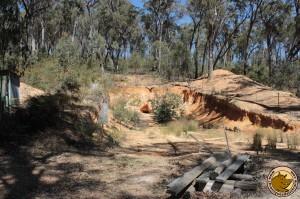 Ancienne mine d'émeraudes