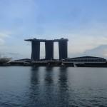 Singapour, vue sur Marina Bay Sand