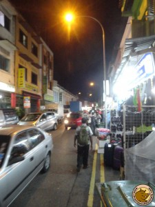Singapour - une rue du quartier Little India