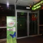 Aéroport de Singapour - Le jardin des papillons
