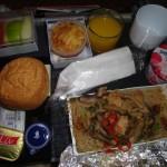 Vol Singapour - Paris, petit déjeuner