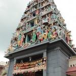 L'entrée d'un temple hindouiste