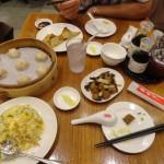 Notre table chez Din Tai Fung